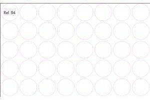 Troquel circulos 5,5x5,5 Ref.94