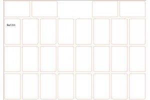 8x5 2puntasredondas Ref.211