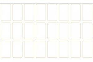 Puntas 8,5x5 sin puntos