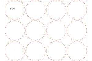 troquel circulos 10x10 Ref.96