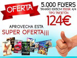 oferta flyers graficas pedraza